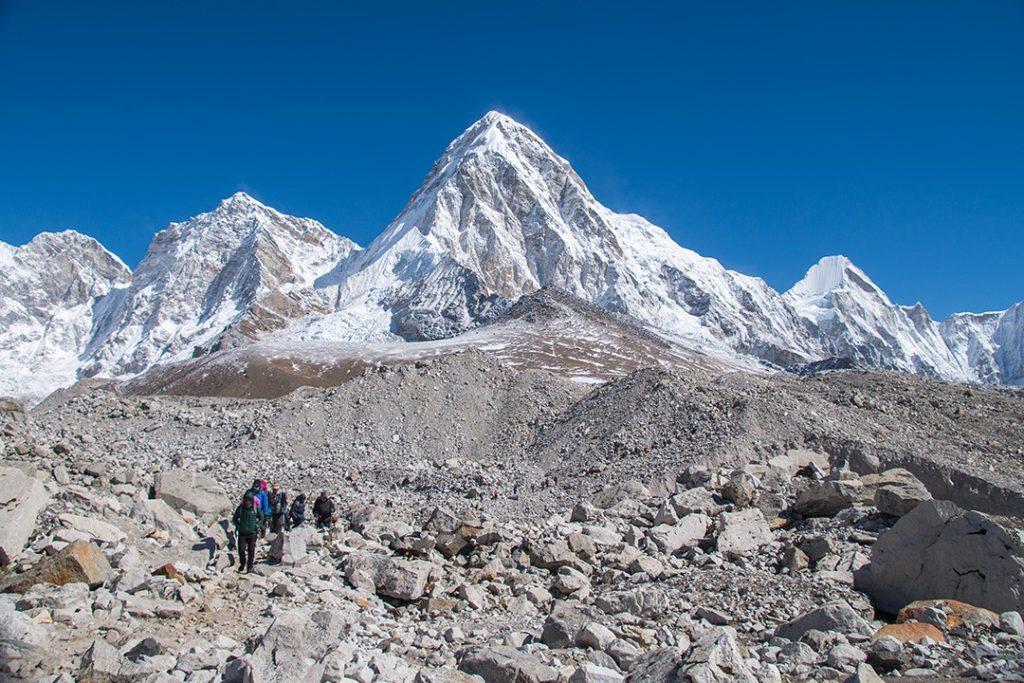 El viaje al campo base del Everest fue espectacular