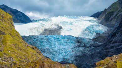 Photo of El clima de batalla en el glaciar Franz Josef