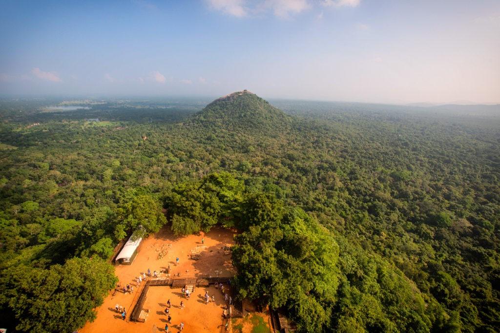 Vista desde la Fortaleza de la Roca de Sigiriya