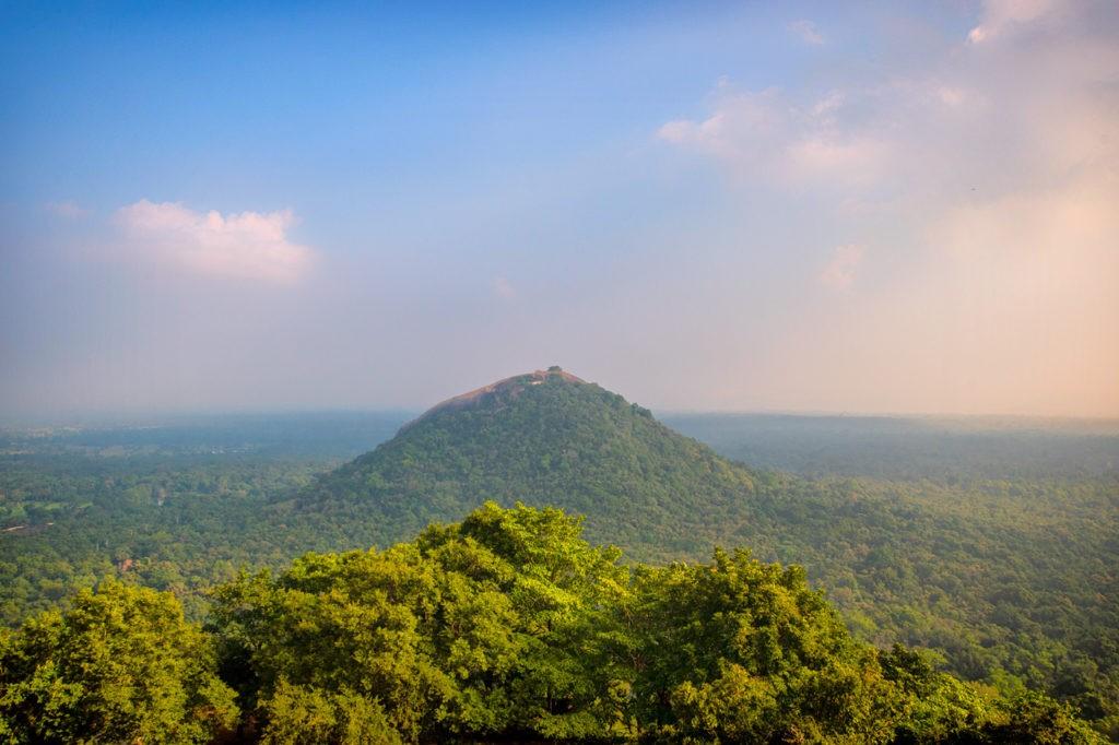 Vista de la fortaleza de Sigiriya Rock