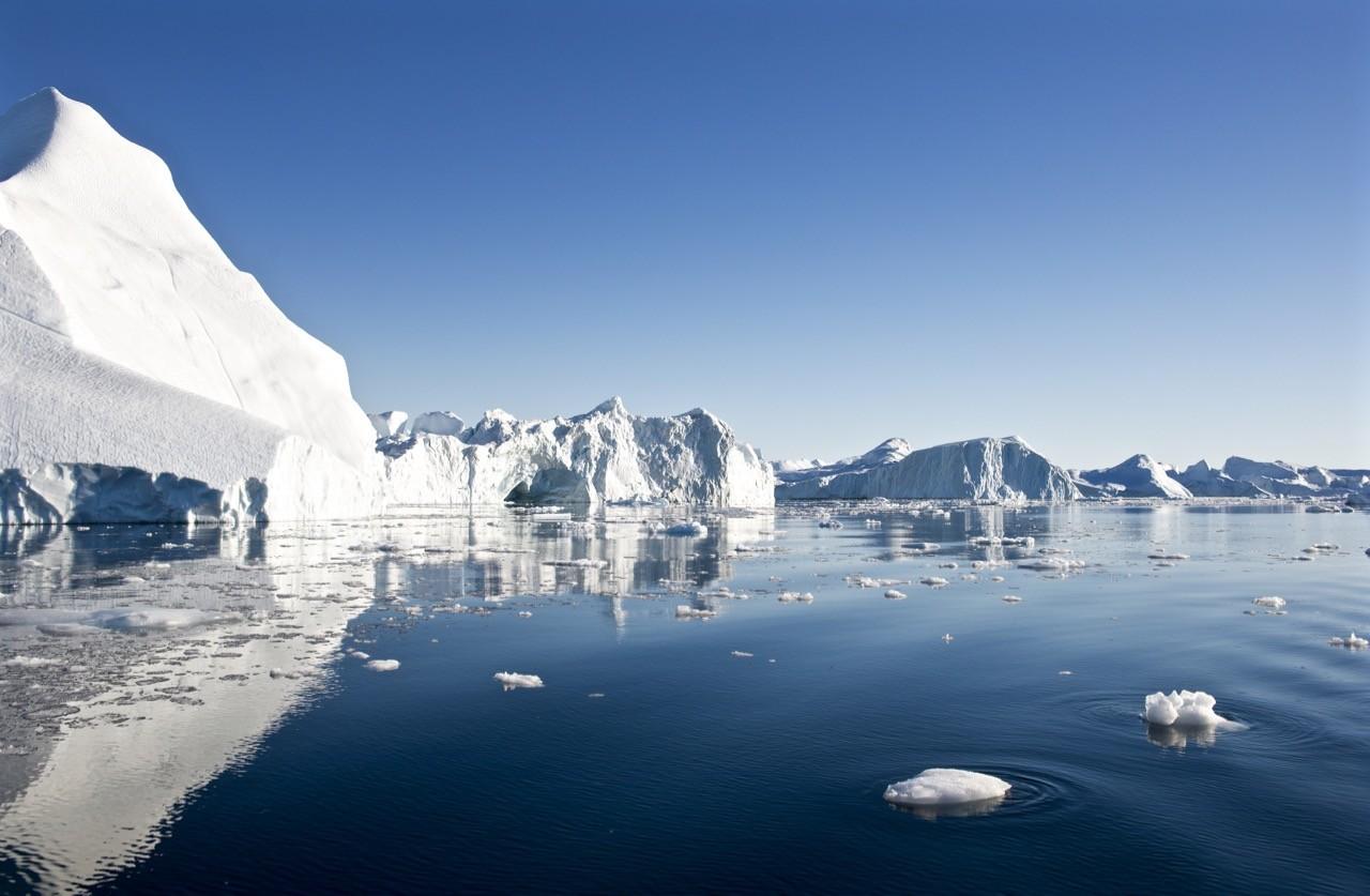 paisajes afectados por el cambio climático - Groenlandia