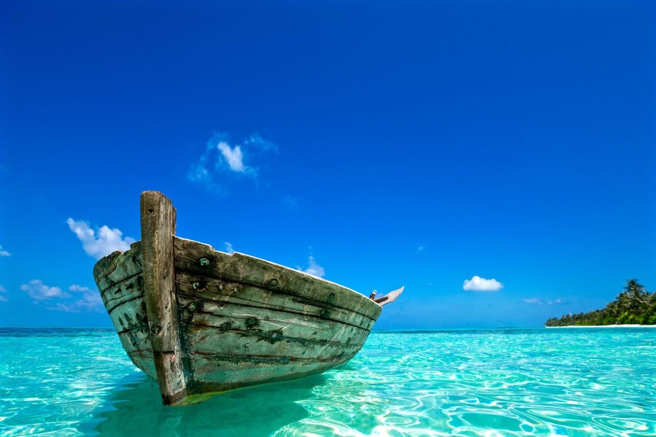 paisajes afectados por el cambio climático-naciones-isla