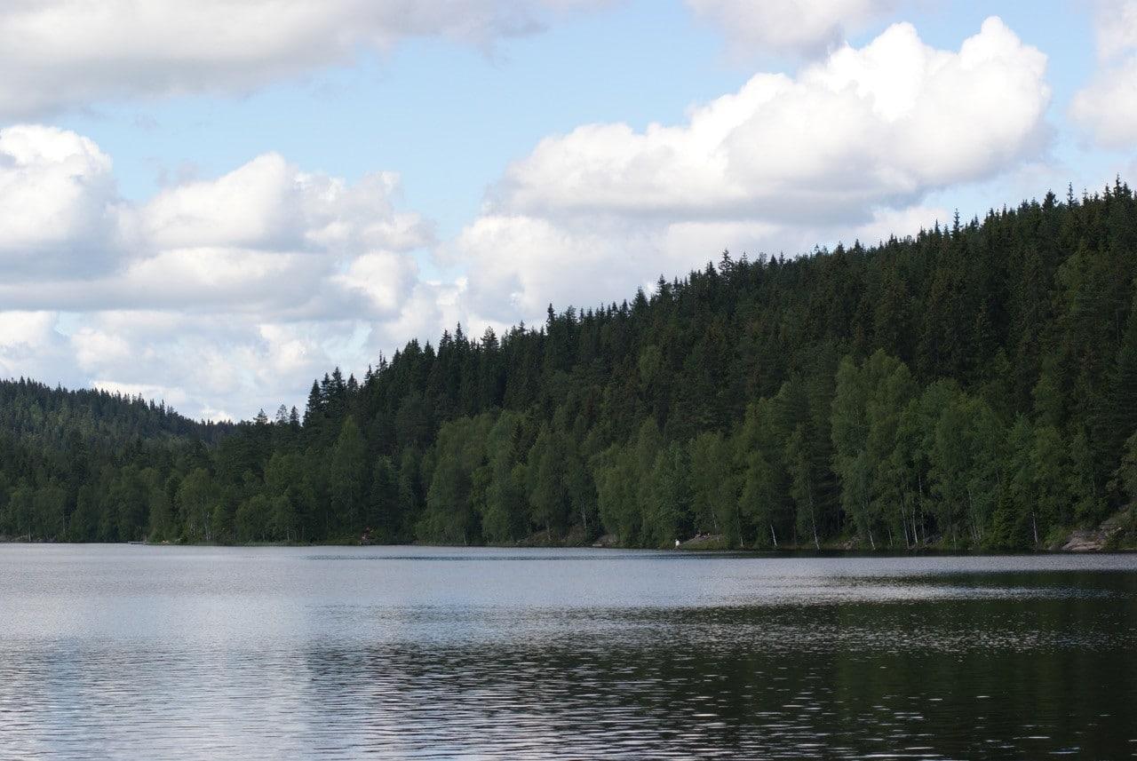 oslo-hiking-trails-Steinbruvannet-lake