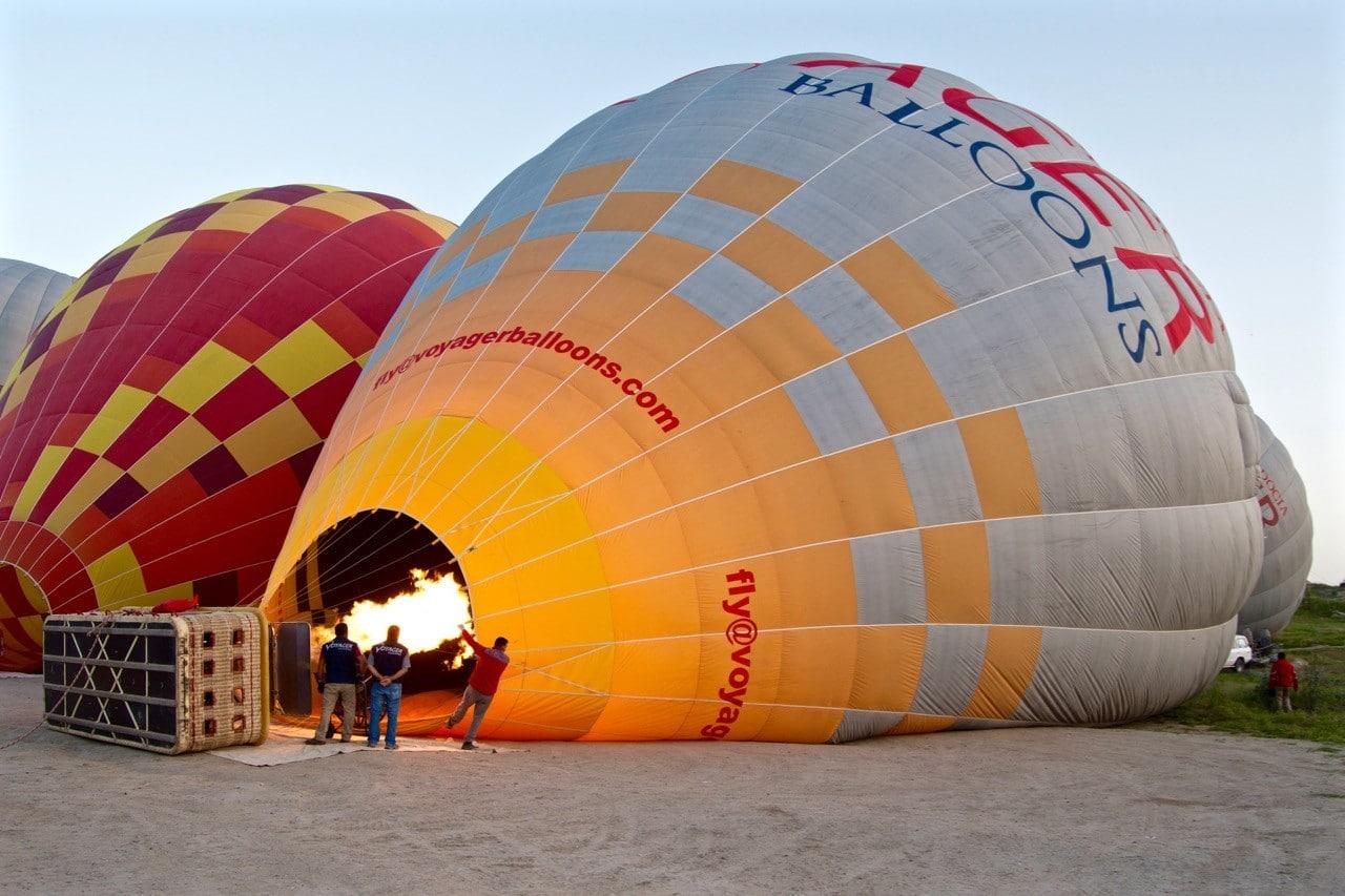 Paseo en globo por la Capadoccia - 1
