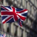palabras que no existen en inglés: Bandera británica