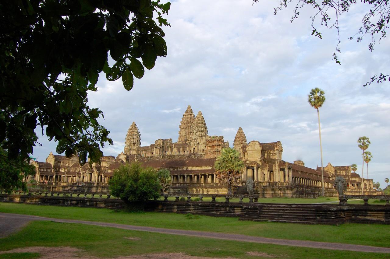 La mejor hora para visitar Angkor Wat: panorama