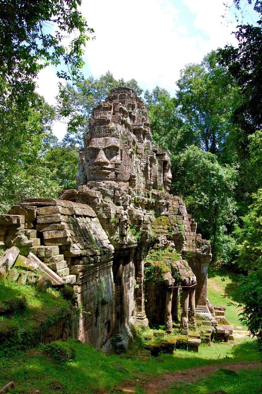 El mejor momento para visitar Angkor Wat: tranquilidad