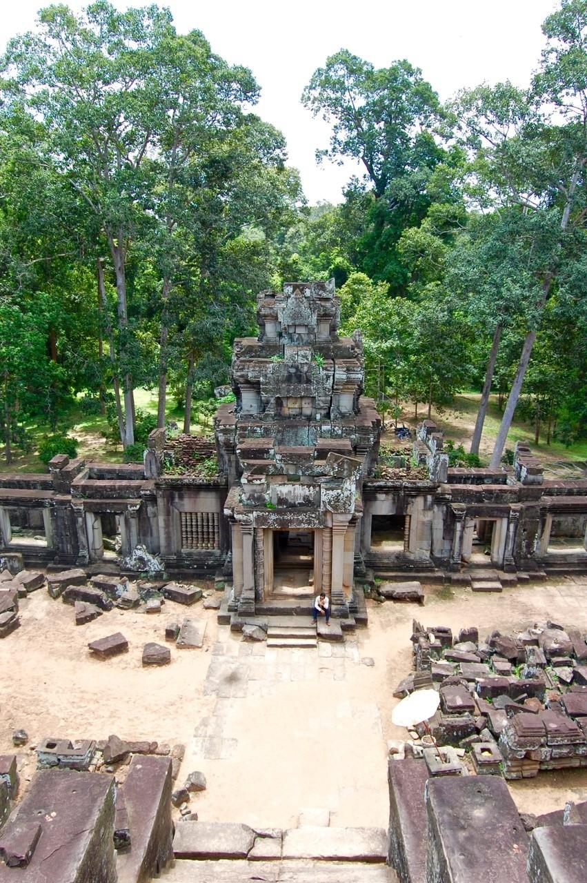 La mejor hora para visitar Angkor Wat: vista aérea