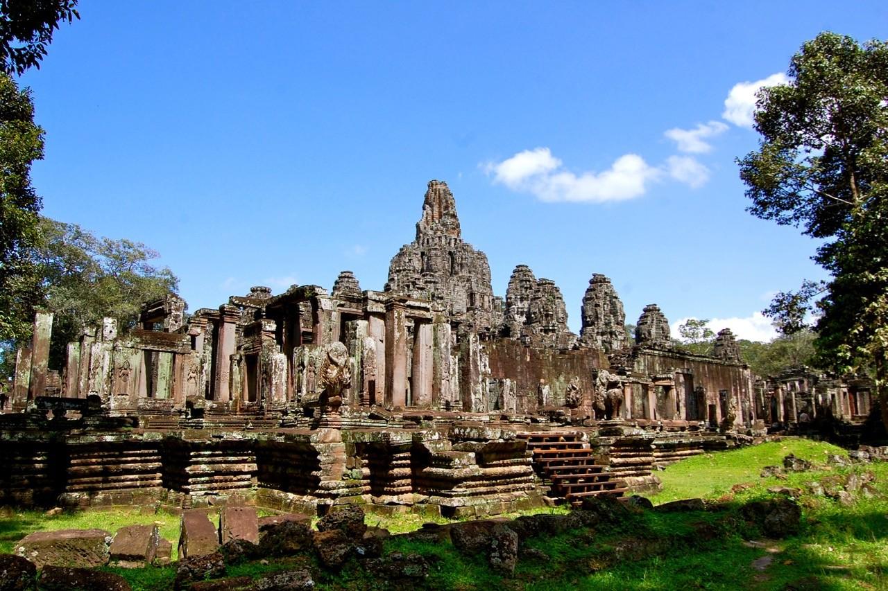 La mejor época para visitar Angkor Wat: la vista de Bayon