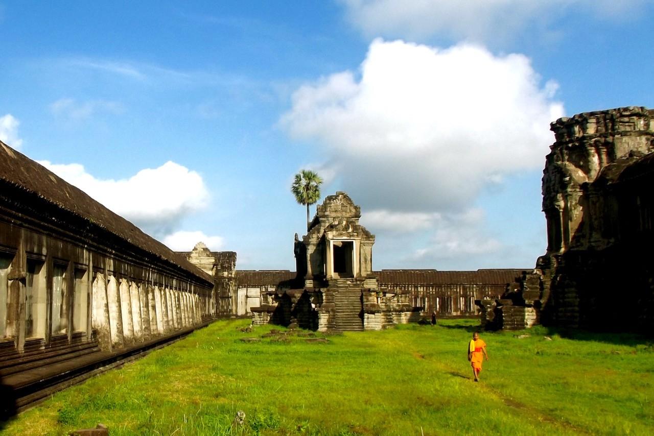 La mejor época para visitar Angkor Wat: la caminata de los monjes