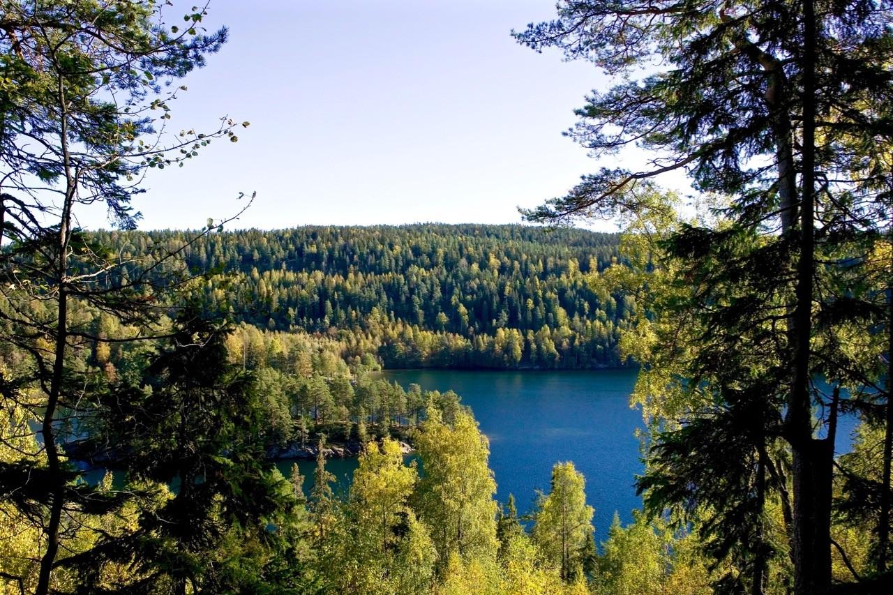 oslo-hiking-trails- lago Nøklevann
