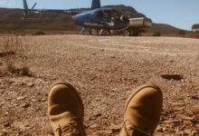 ¿Es este tu próximo escape?  Heli Swag Camping en Flinders Ranges