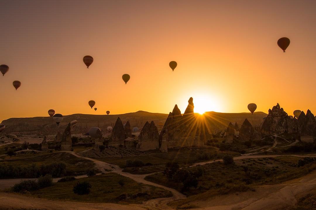 Paseo en globo de Capadoccia al amanecer 1