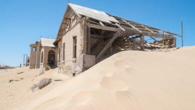 Photo of Visitando Kolmanskop, el pueblo fantasma en el desierto de Namibia