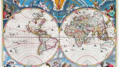 Photo of 12 mapas que cambiaron nuestra visión del mundo