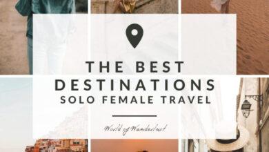 Photo of Los 20 mejores lugares para viajar en solitario
